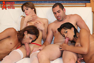 shemales from hell orgy01x Shemales From Hell Had a RAUNCHY TRANNY ORGY...