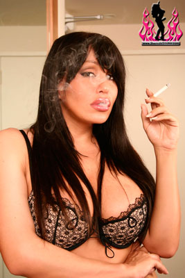 shemalesmoke01x Love to See Sexy Shemales Smoking? Heres a Site For You!
