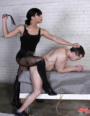 shemalebianca01x Send in Mistress Bianca to Teach You a Lesson in Disobedience