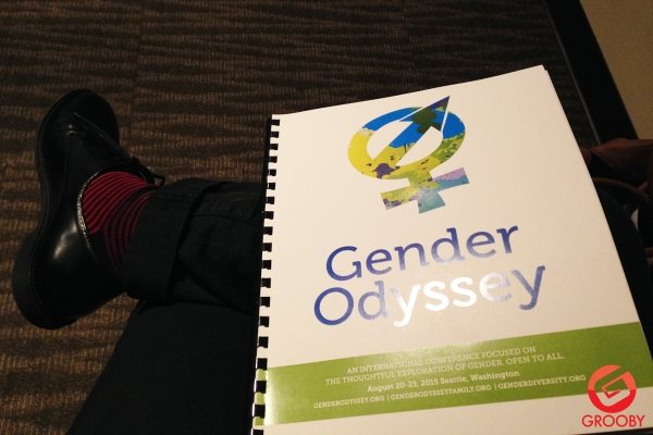 Grooby at Gender Odyssey