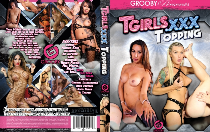 Grooby Releases Newest Title, TGirls.XXX Topping