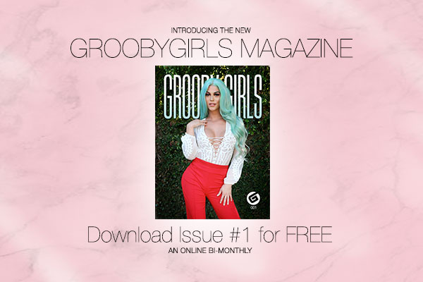 Grooby Launches Free Digital Publication, Grooby Girls the Magazine
