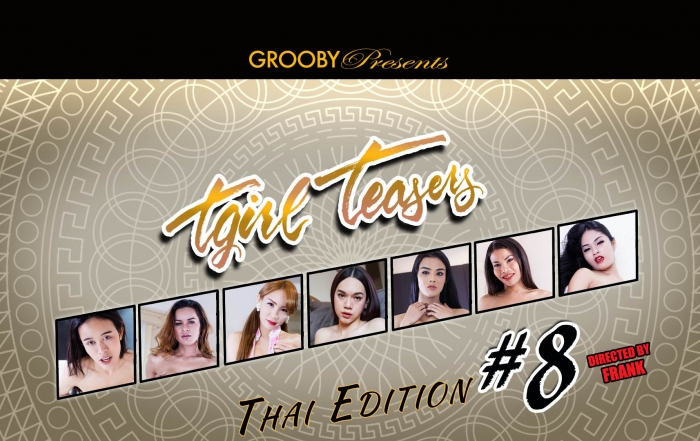 Grooby Releases 'TGirl Teasers #8' on DVD