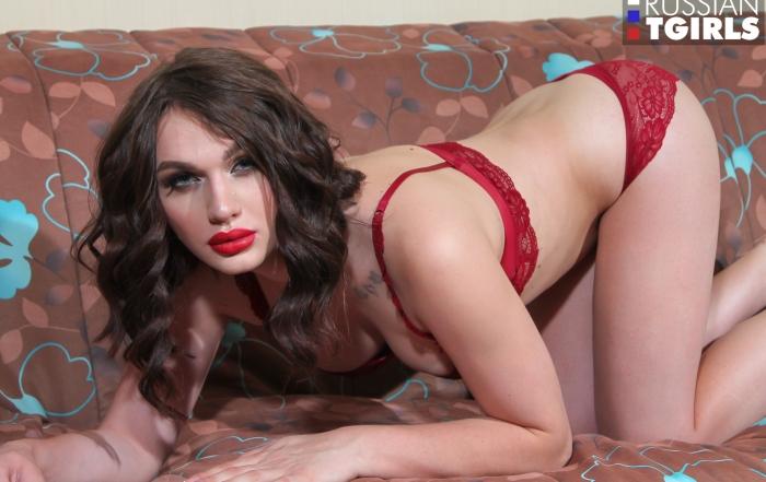 Alluring Vika Wolf returns to Russian TGirls!