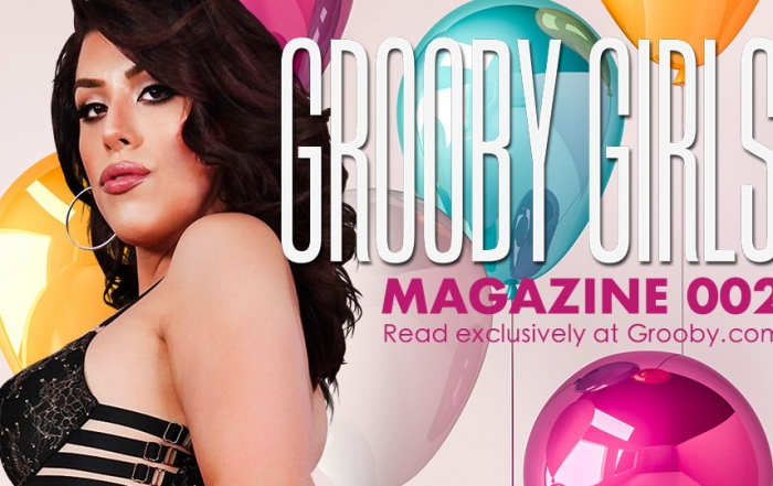 Grooby Releases Issue #002 of Grooby Girls Magazine