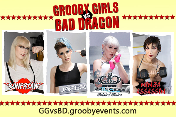 "Grooby Launches ""Grooby Girls vs. Bad Dragon"" Web Series"