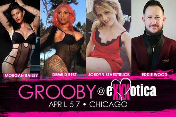 Grooby Named Premium Exhibitor at Exxxotica: Chicago