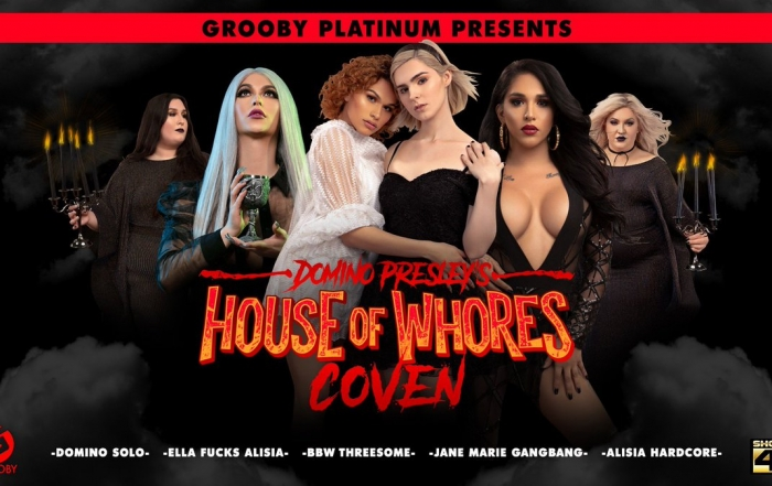 Grooby Announces 'Domino Presley's House of Whores: Coven' on DVD