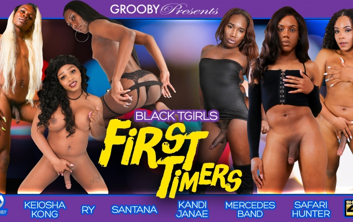 Grooby Releases New DVD Series, Black-TGirls: First Timers