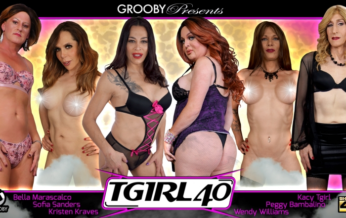 Grooby's MILF title, TGirl 40, Hits Shelves
