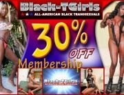 30% Off at Black TGirls