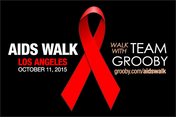 Grooby to Participate at AIDS Walk Los Angeles