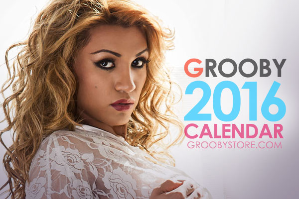 Grooby Releases Their  2016 Calendar Featuring 13 TS Stars