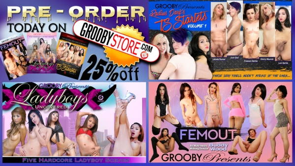 25% off November Grooby releases