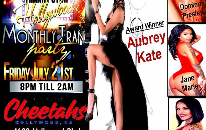 Aubrey Kate Headlines at New 'Tranny Strip Hollywood' this Friday