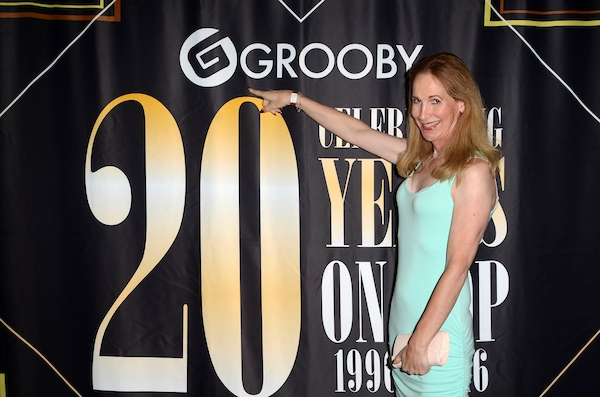 Becca Benz at the Grooby 20th Anniversary Party, Bardot, Hollywood