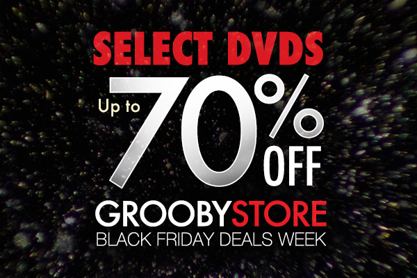 Up to 70% select DVDs during Black Friday Deals Week!