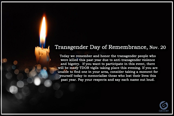 Transgender Day of Remembrance 2017