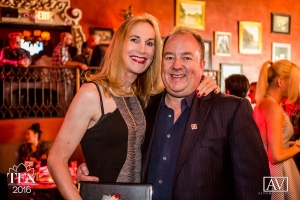 Becca Benz and Steven Grooby at TEA 2016