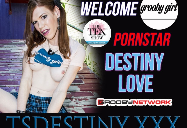 Destiny Love Launches Her Official Website with the Grooby Network