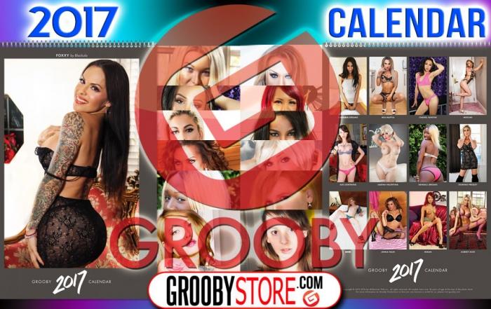 Announcing the 2017 Grooby Girls Calendar!
