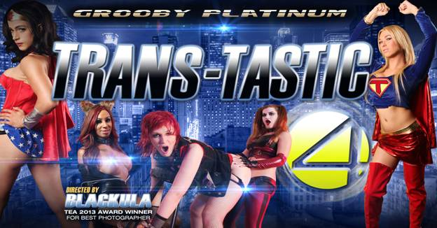 Grooby Announces First Ever TS Superhero DVD, Trans-Tastic Four