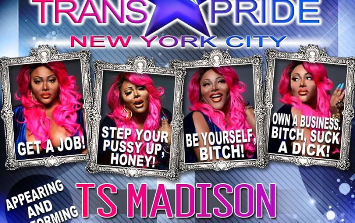 TS Madison to Host TGirl Events' Trans Pride NYC at HQNYC Club this Saturday