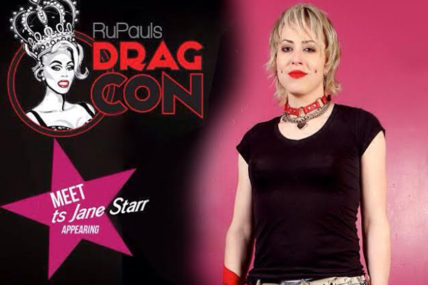 TS Performer Jane Starr to Appear at Drag Con this Weekend in Los Angeles