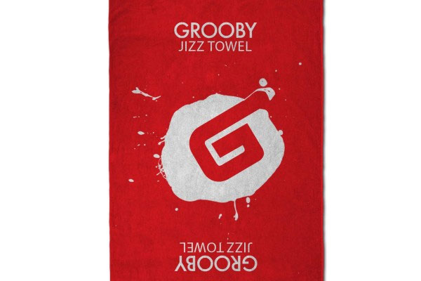 Here's Your Stocking Stuffer: Grooby Jizz Towels!