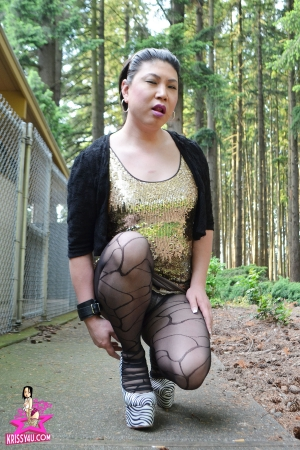 A Krissy4u - Naughty Asian Tgirl Picture
