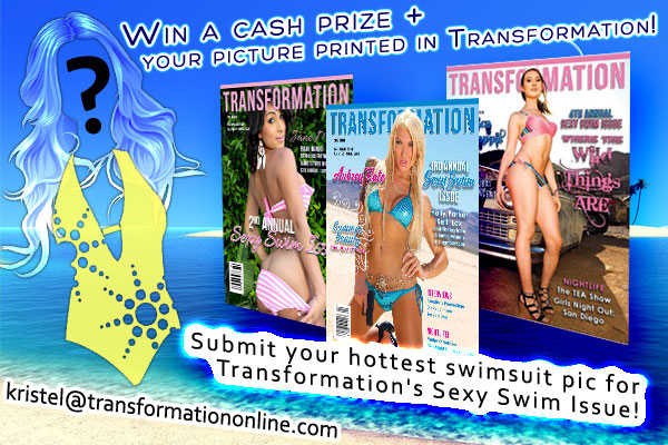 Want to be in the Sexy Swimsuit Issue of Transformation?! Here's how!