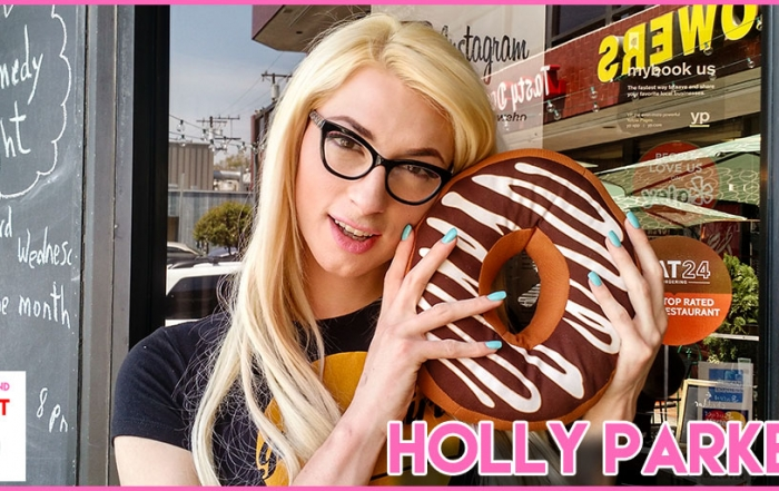 Holly Parker Appears on Porn and a Donut Podcast