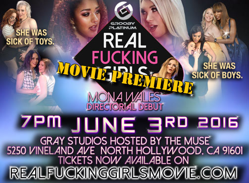 Grooby to Host 'Real Fucking Girls' Movie Screening on June 3 in North Hollywood
