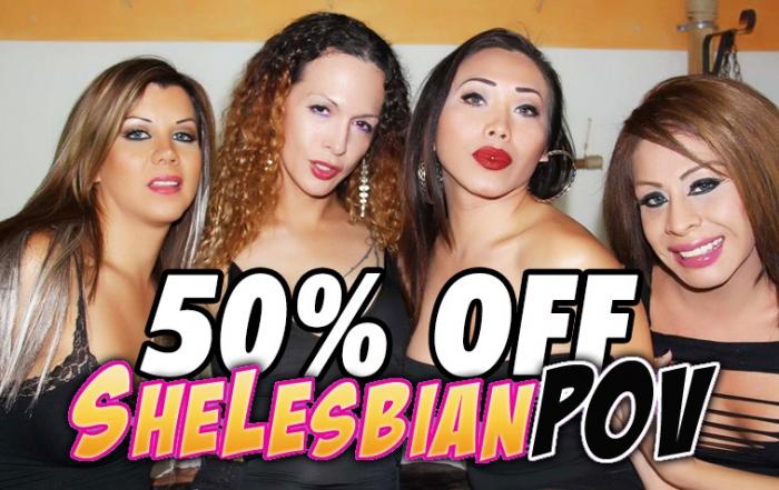 [[Exclusive]] 50% off at Nikki Montero's ShelesbianPOV.com!