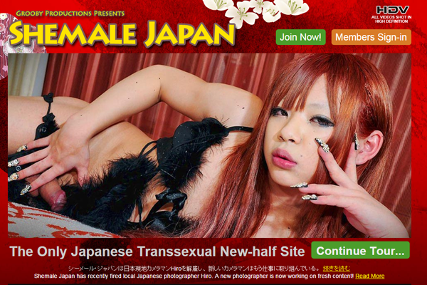 Shemale Japan & Grooby Hire New Photographers – Photographer Hiro, No Longer Part of the Website or Company