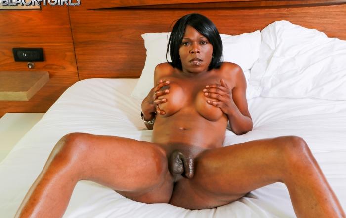 Vivian Spice delivers on Black TGirls Cumshot Thursday!