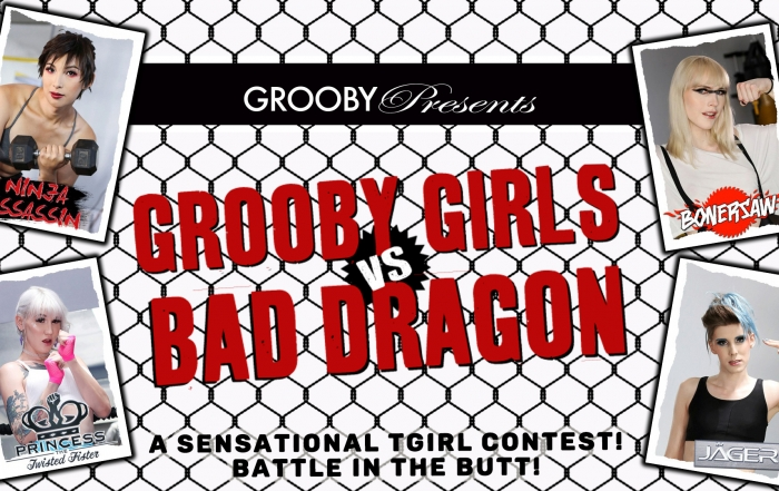 Grooby Releases 'Grooby Girls vs. Bad Dragon' on DVD