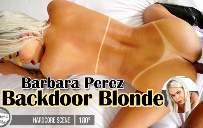 Barbara Perez: Backdoor Blonde