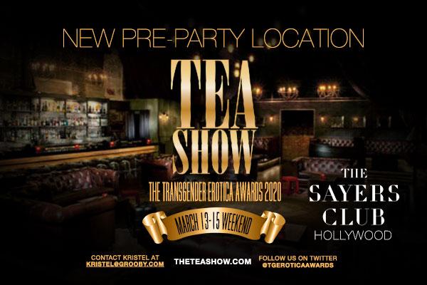 TEA Show Announces New Pre-Party Venue