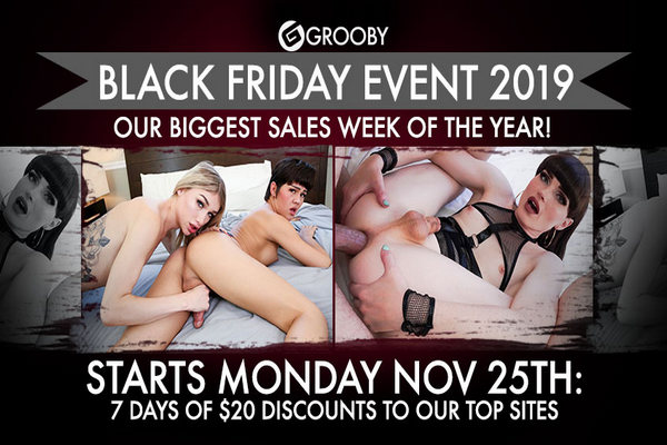Grooby Black Friday Event 2019