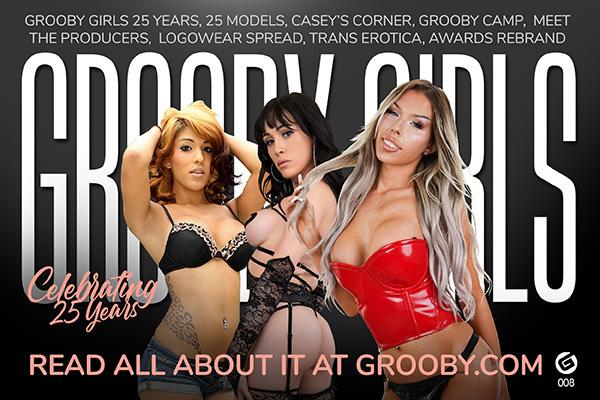 Grooby Girls Magazine: 25th Anniversary