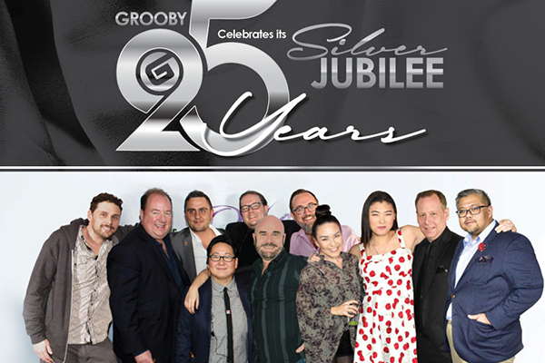 Grooby Celebrates 25 Years